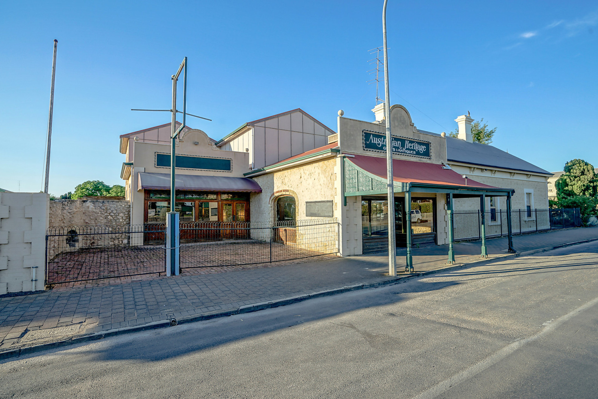 A grand home and two shops spells opportunity - Harris Real Estate